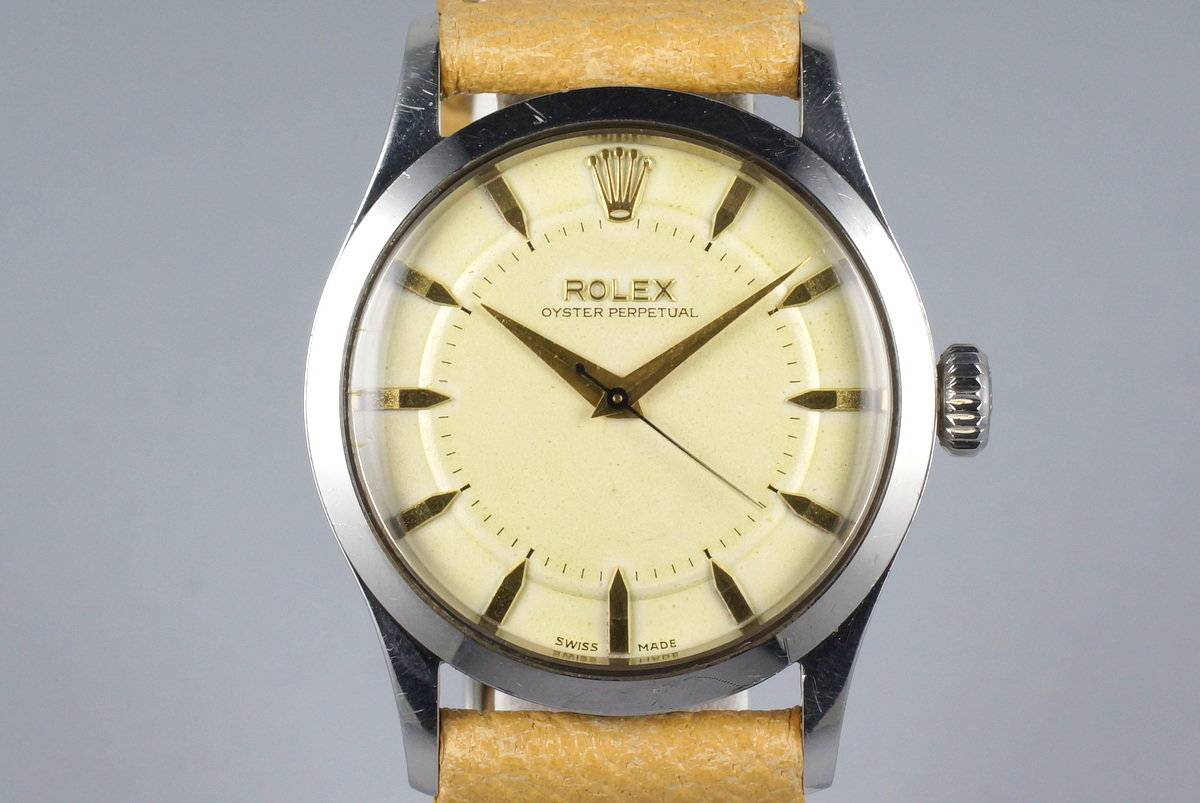 Rolex - 6332 - Oyster Perpetual - Bubbleback - Mens