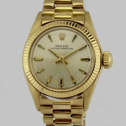 Rolex - 6616 - Oyster Perpetual - Ladies