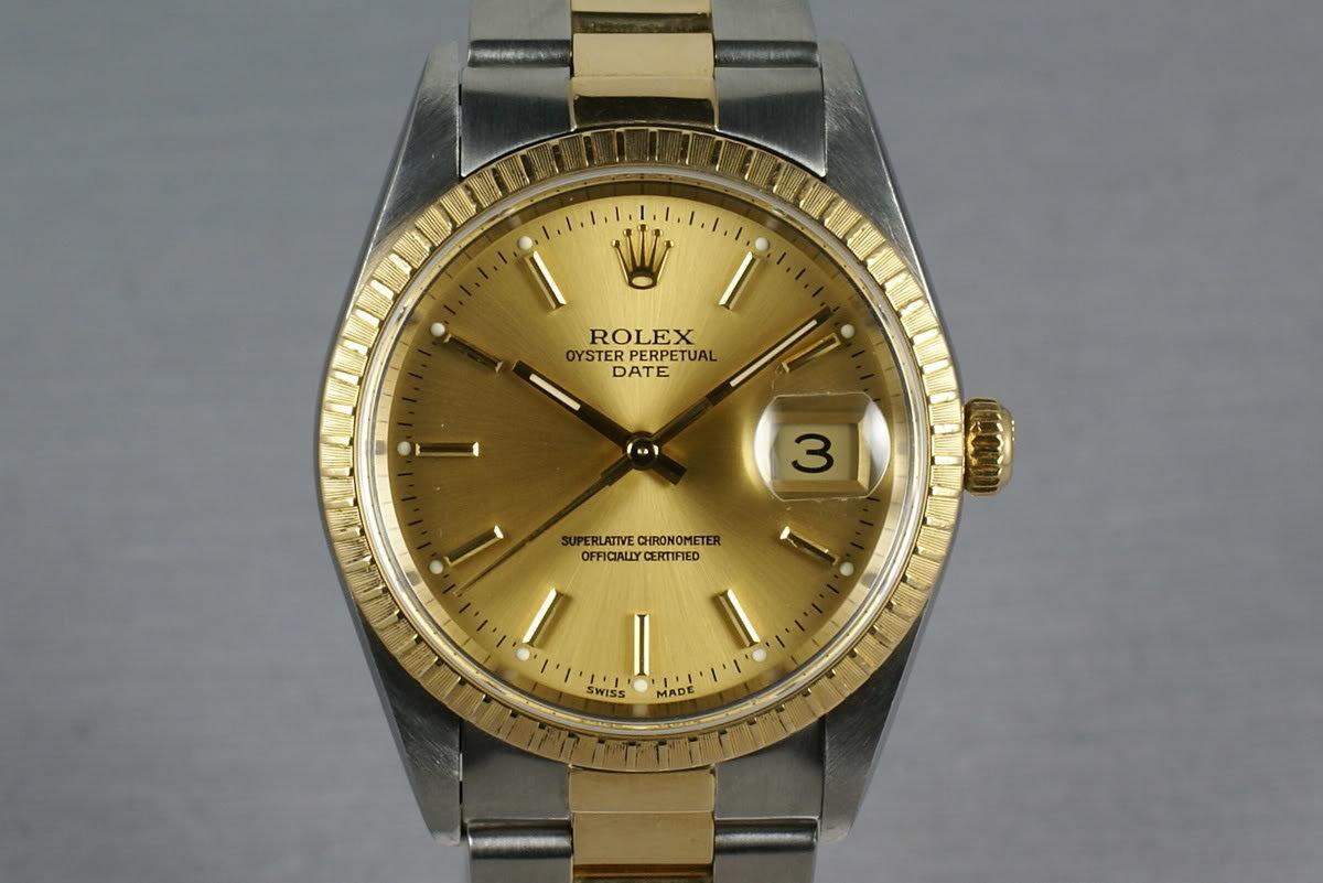Rolex - 15233 - Date - Mens