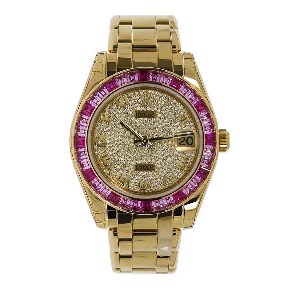 Rolex - 81348SARO - Datejust - Pearlmaster - Ladies