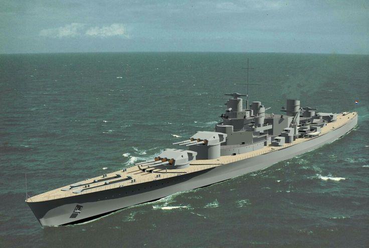 Warship Class - Gouden Leeuw - Battleship