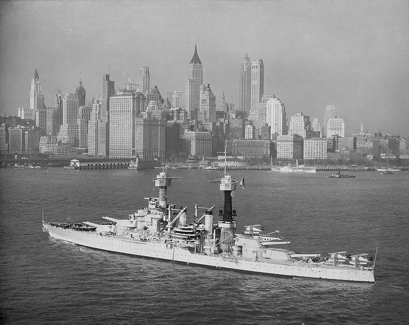 Warship Class - Colorado - Battleship