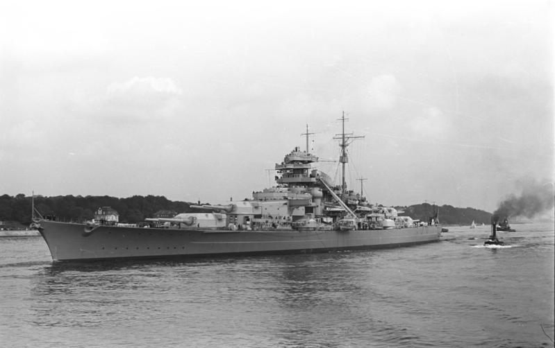 Warship Class - Bismarck - Battleship