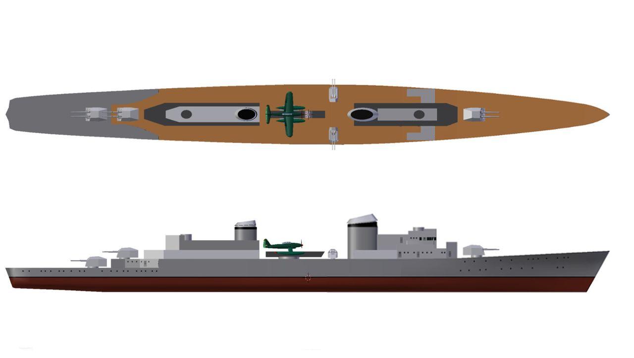 Warship Class - Spahkreuzer - Cruiser