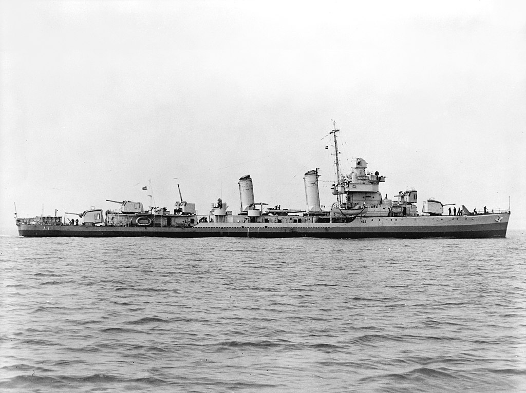 Warship Class - Gleaves - Destroyer