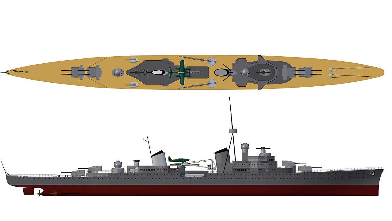 Warship Class - M-Class Cruiser - Cruiser - Light Cruiser