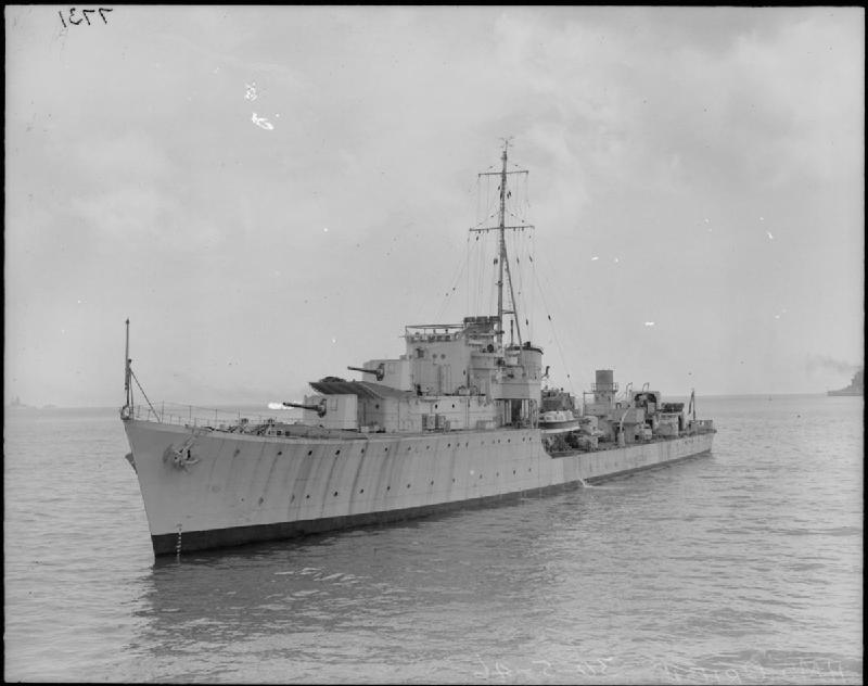 Warship Class - O and P Class - Destroyer