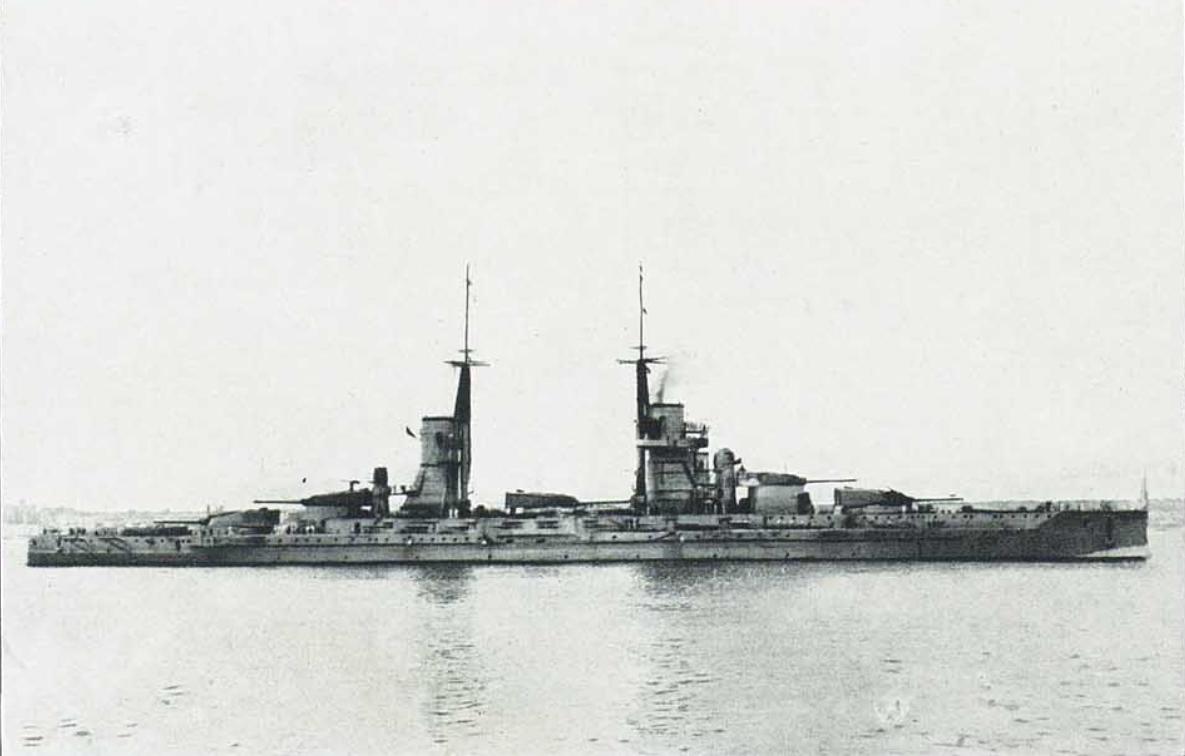 Warship Class - Andrea Doria - Battleship - Dreadnought