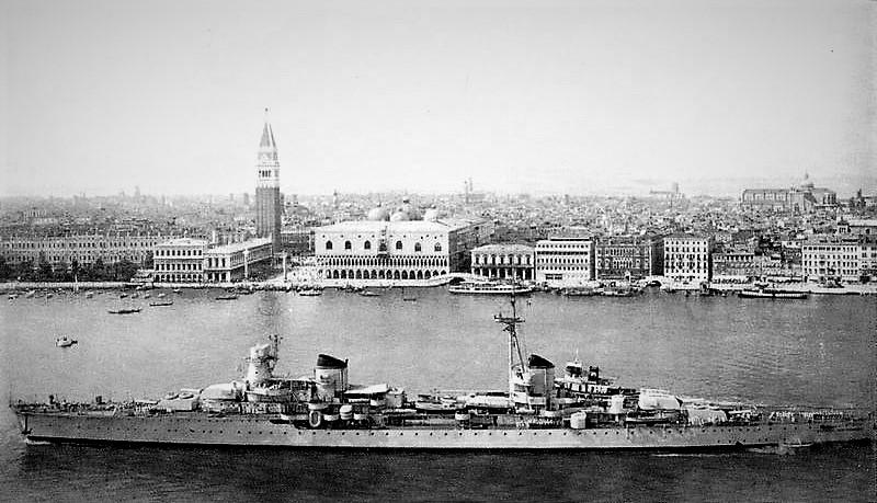 Warship Class - Condottieri - Cruiser - Light Cruiser