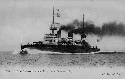 Warship Class - Iéna - Battleship - Pre-Dreadnought
