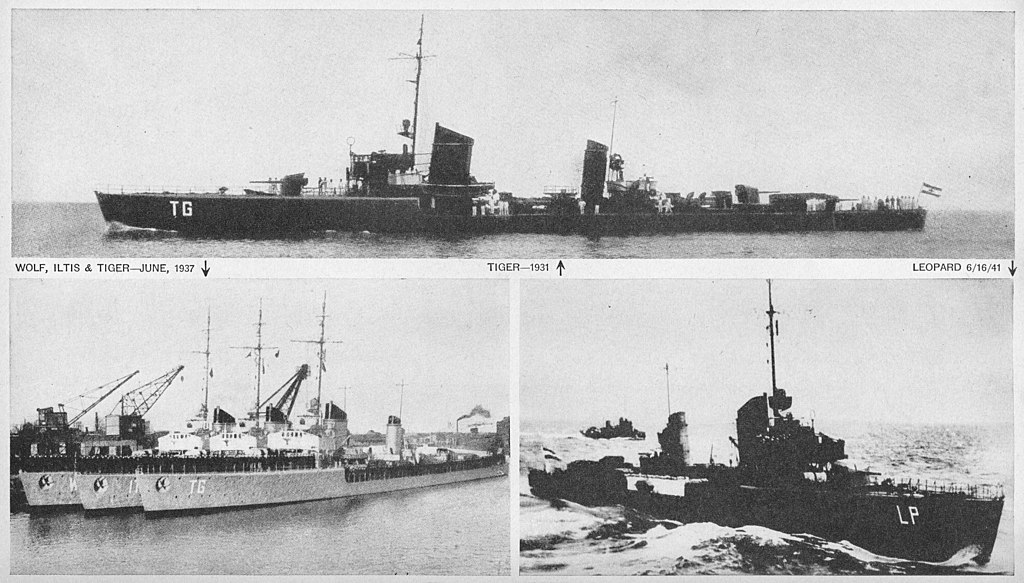Warship Class - Type 24 - Destroyer - Torpedo Boat