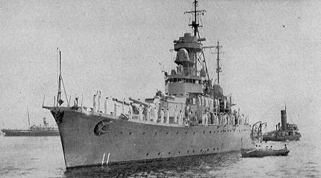 Warship Class - Sri Ayudhya - Cruiser
