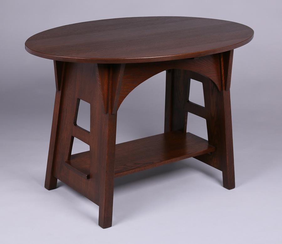 Furniture - Limbert - 146 - Table, Oval Top
