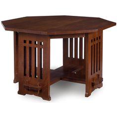 Furniture - Limbert - 139 - Table, Octagon Top