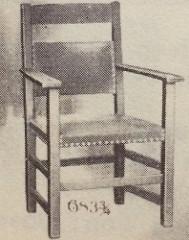 Furniture - Limbert - 683 3/4 - Arm Chair