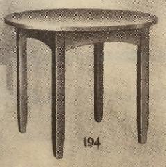 Furniture - Limbert - 194 - Table, Round Top
