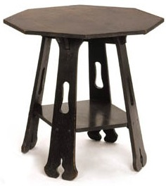 Furniture - Limbert - 101 - Table, Octagon Top, Plain White Oak, Bolted Construction, Weatherproof Finish any color