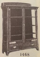 Furniture - Limbert - 1468 - China Cabinet, Adjustable Shelves