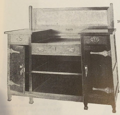 Furniture - Roycroft - 03 - Sideboard
