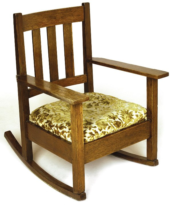 Furniture - Stickley Brothers - 973 - Arm Rocker with Loose Seat Cushion