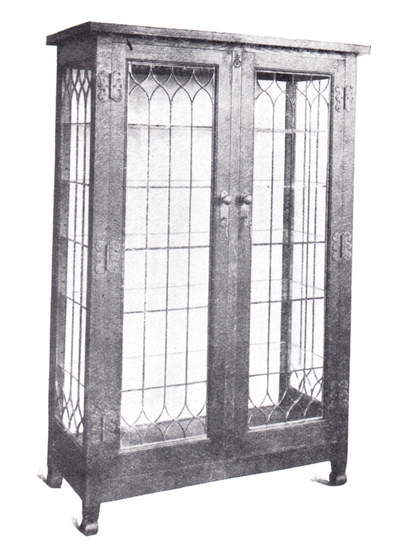 Furniture - Roycroft - 07 1/2-O - China Cabinet