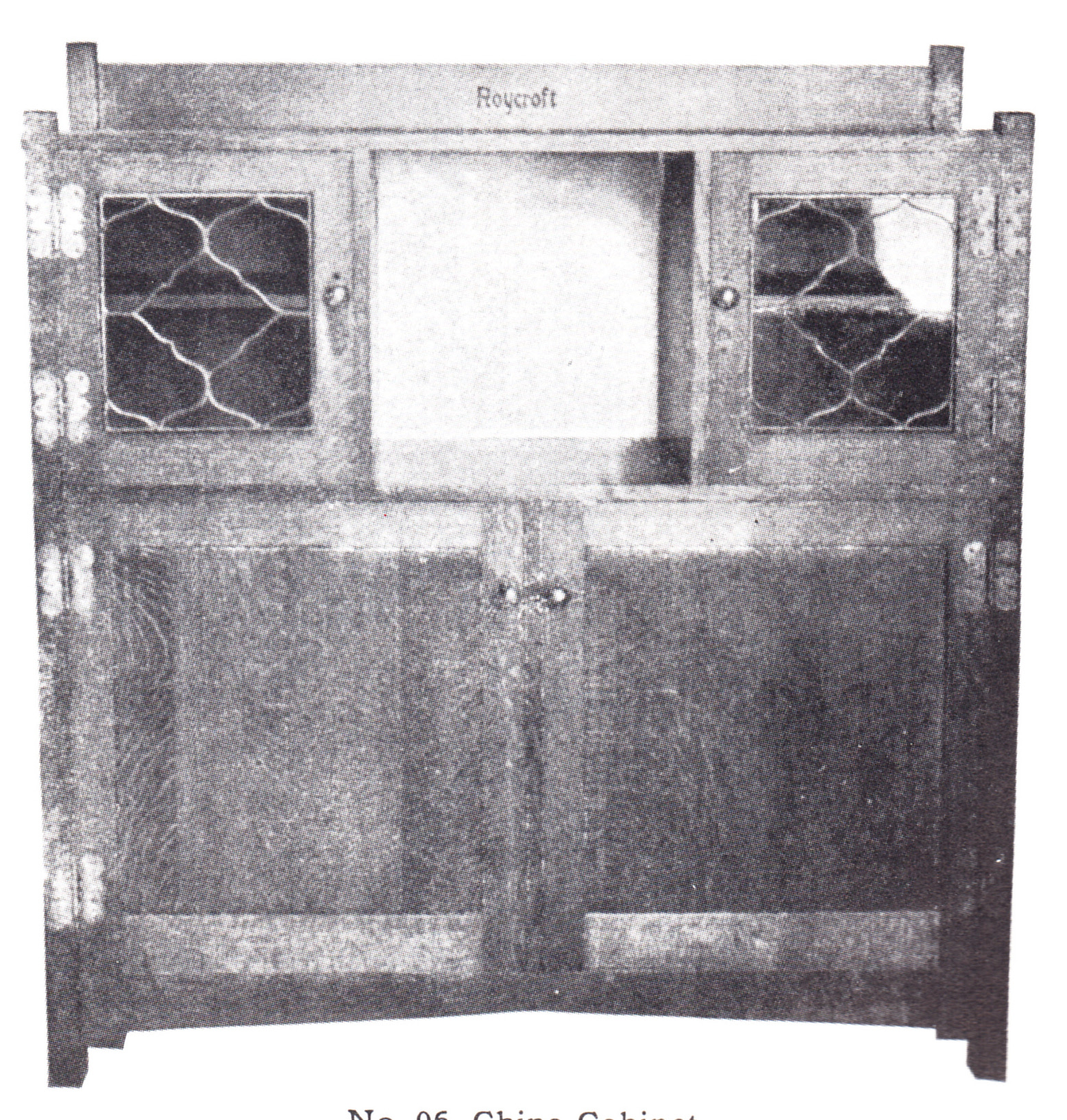 Furniture - Roycroft - 06-M - China Cabinet, Mahogany