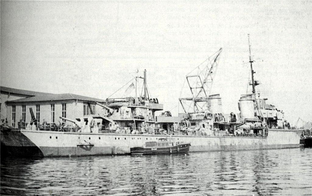 Warship - Z29 - Destroyer