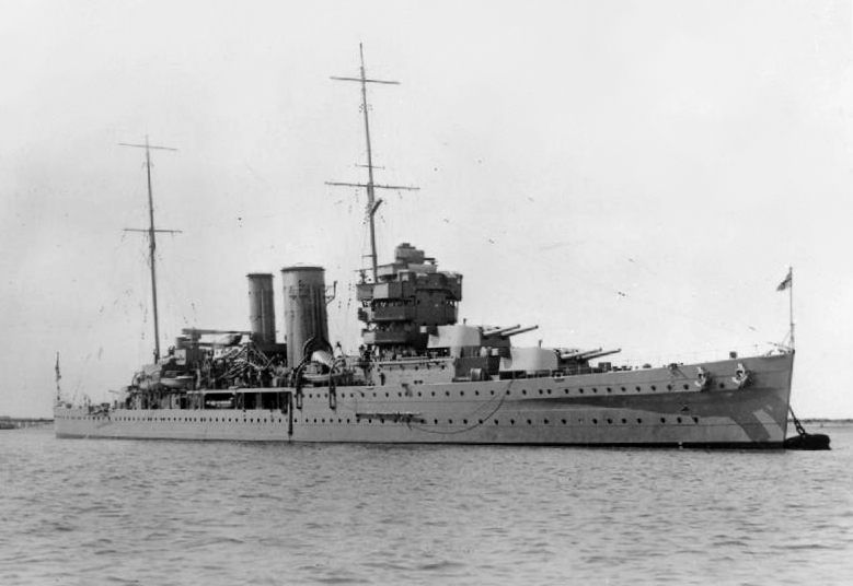 Warship - HMS York - Cruiser - Heavy Cruiser