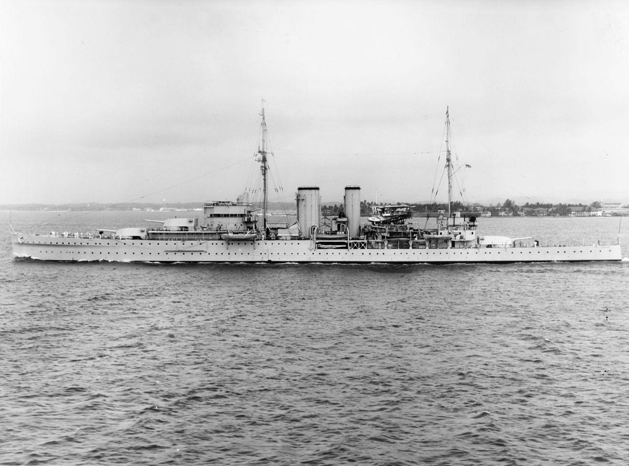 Warship - HMS Exeter - Cruiser - Heavy Cruiser