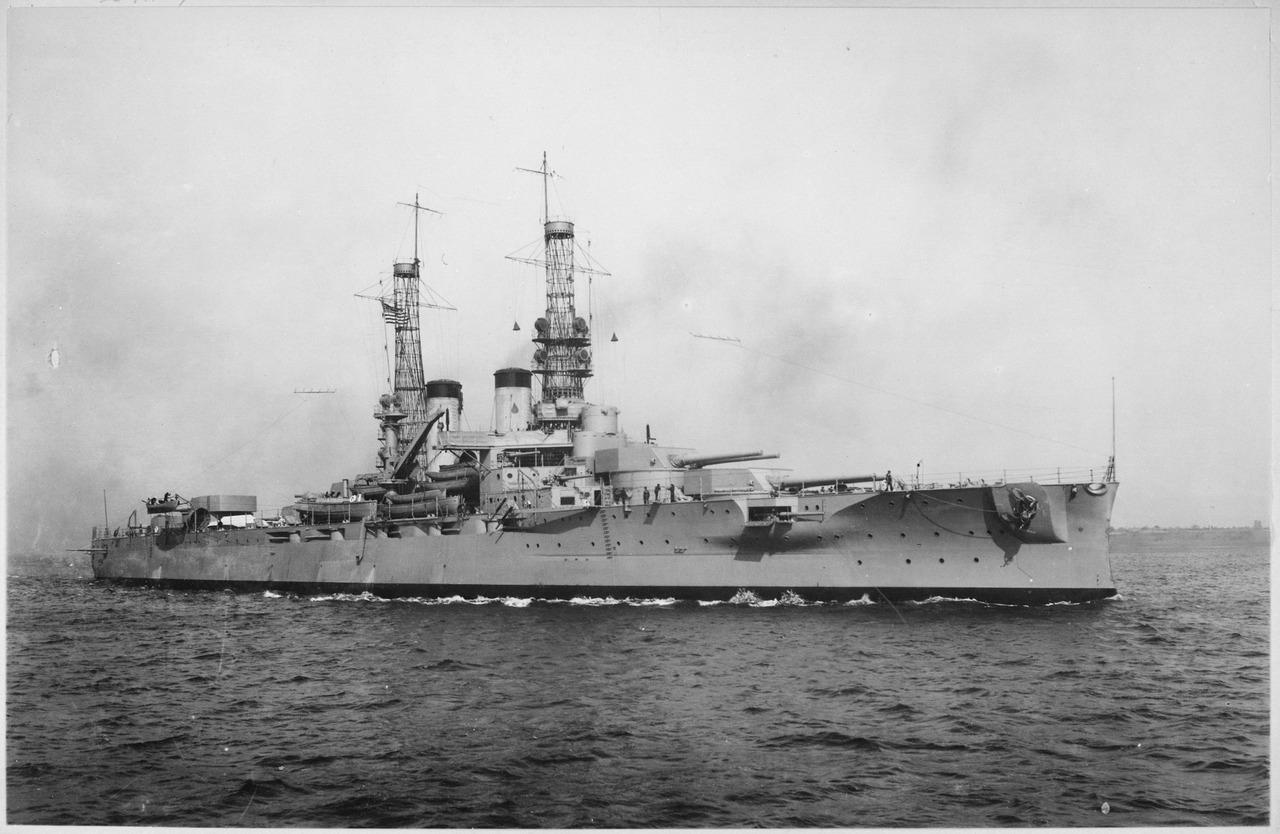 Warship - USS Arkansas (BB-33) - Battleship - Dreadnought
