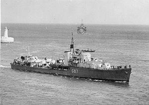 Warship - HMS Lance - Destroyer