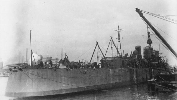 Warship - Akishimo - Destroyer