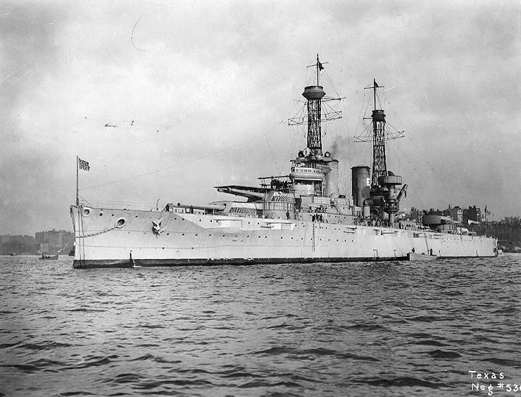 Warship - USS Texas (BB-35) - Battleship