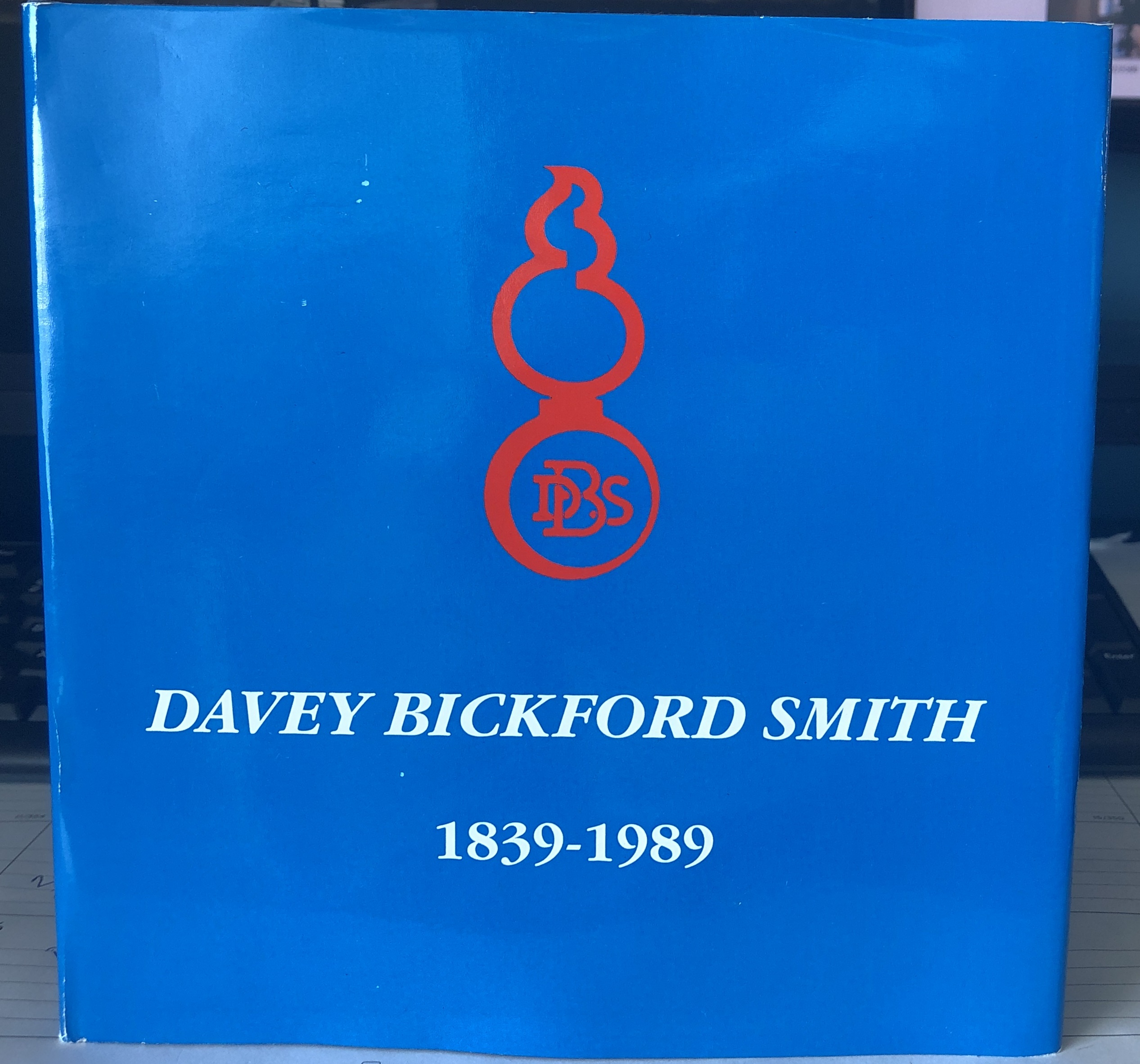 Book - Davey Bickford Smith