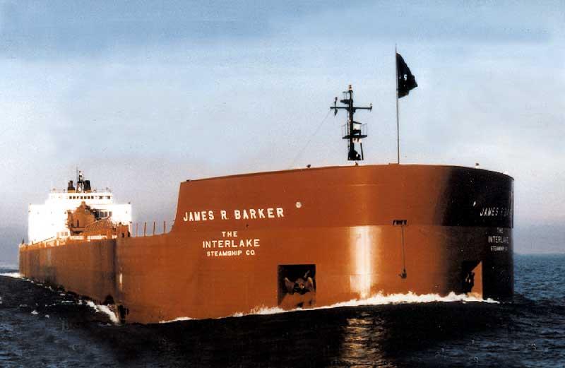 Merchant Ship - James R. Baker - Self-Unloader