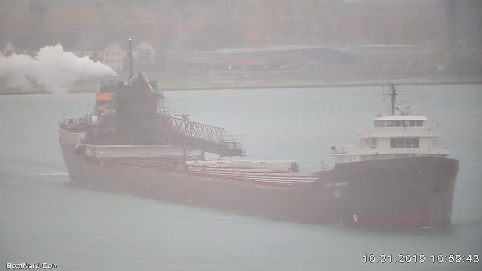Merchant Ship - Lee A. Tregurtha - Self-Unloader