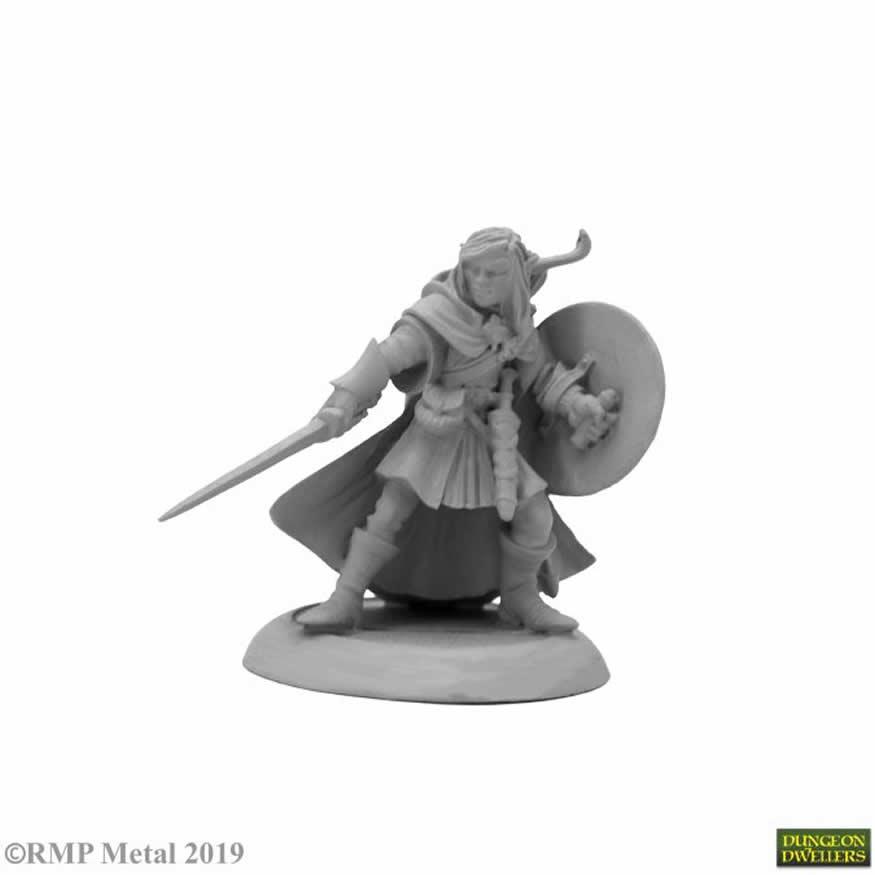 Miniature Gaming Figure - Reaper Miniatures - 07026 - Mellonir Windrunner Elf Ranger