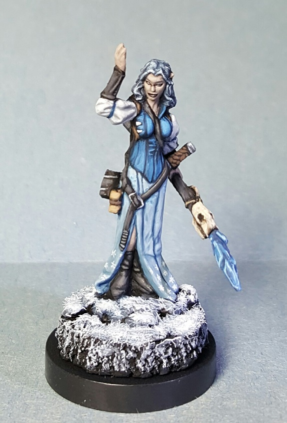 Miniature Gaming Figure - Reaper Miniatures - 77193 - Hyrekia, Female Elf Wizard