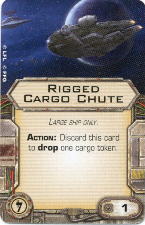 X-Wing Miniatures - Rigged Cargo Shute