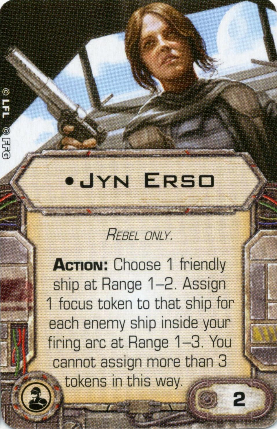 X-Wing Miniatures - Jyn Erso