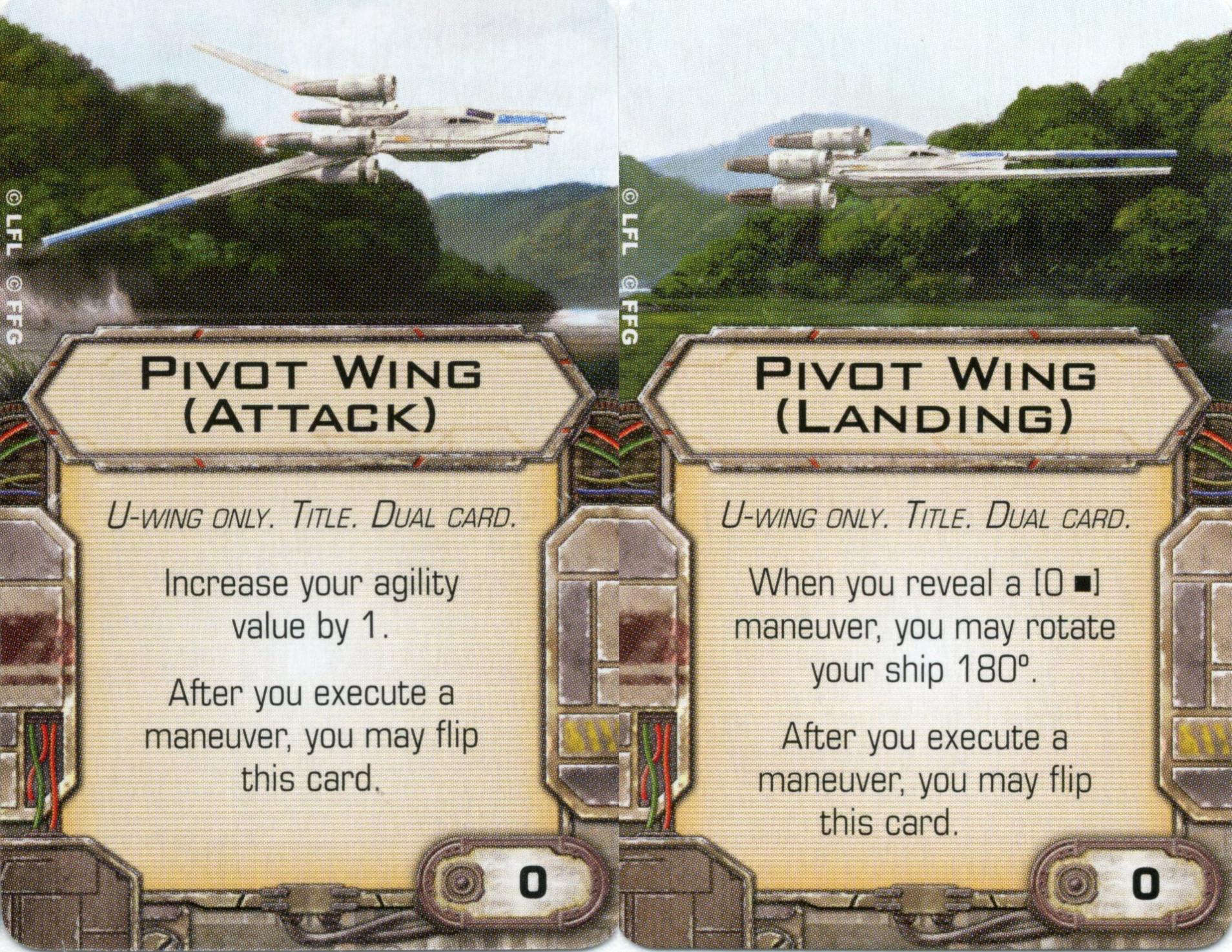 X-Wing Miniatures - Pivot Wing