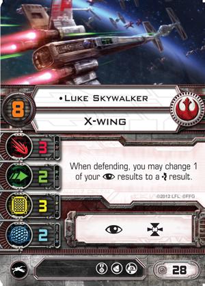 X-Wing Miniatures - Luke Skywalker