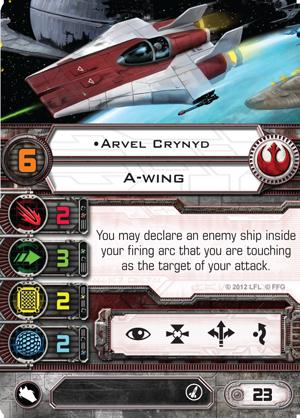 X-Wing Miniatures - Arvel Crynyd