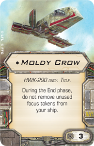X-Wing Miniatures - Moldy Crow