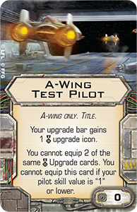 X-Wing Miniatures - A-Wing Test Pilot