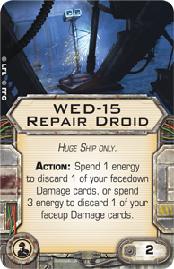 X-Wing Miniatures - WED-15 Repair Droid