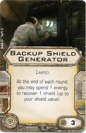 X-Wing Miniatures - Backup Shield Generator