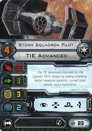 X-Wing Miniatures - Storm Squadron Pilot