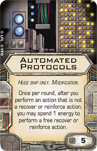 X-Wing Miniatures - Automated Protocols