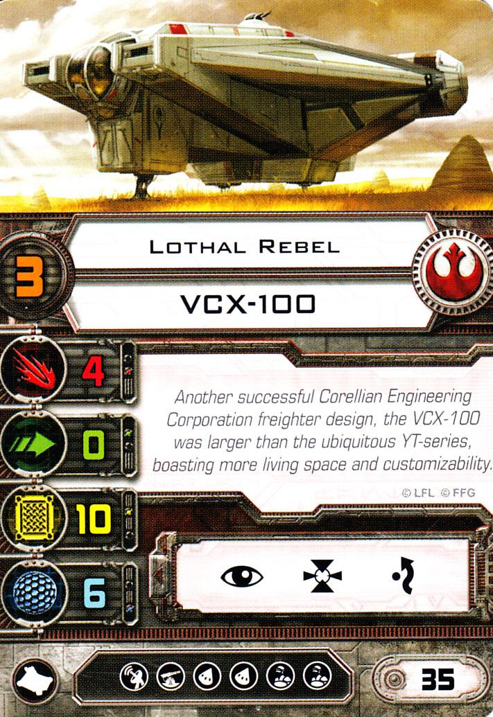X-Wing Miniatures - Lothal Rebel